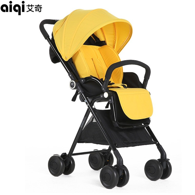 2018 Special Offer Poussette Baby Strollers Aiqi Stroller Portable Foldable High Landscape Suspension Umbrella Pram Pushchair