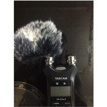 Открытый искусственный мех WindCover муфта лобовое стекло для Tascam DR07MKII Dead cat для Tascam DR07MKII