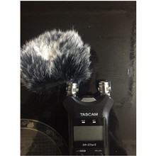 Outdoor Artificial Fur WindCover Muff windscreen for  Tascam DR07MKII Dead cat for Tascam DR07MKII