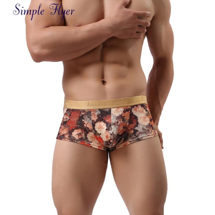 Boxer Underwear Panties Penh-Print Man for Mannen Barbati Lenjerie-De-Corp AGU 02 SIF