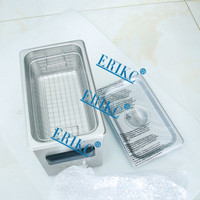 Erikc дизель инжектор чистки 110 В, 3 В впрыска топлива ультразвуковая система очистки инструмент e1024014
