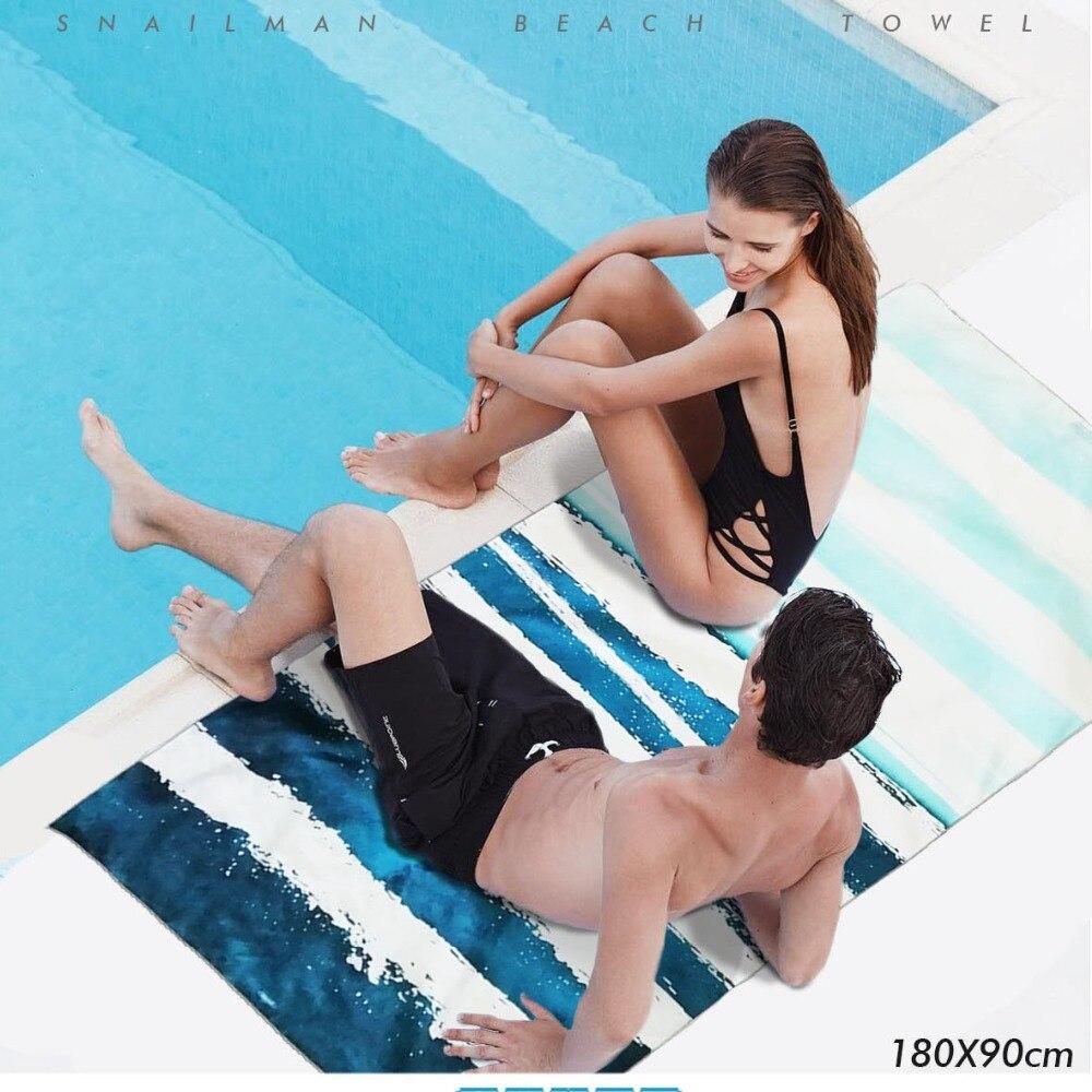 Toalla de playa compacta para surf de marca superior de microfibra para viaje, toalla de entrenamiento, tabla de surf, toalla de buceo para gimnasio, hecha en China