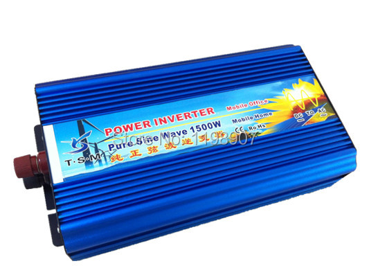 3000W Watts Peak Real pure sine wave 1500W 1500 Watts Power Inverter 12V DC to 220V AC 1500w sine wave + Free shipping fast shipping dc to ac 12v to 220v pure sine wave inverter 5000w peak 10000w inverter pure sine wave power converters