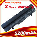 6 ячеек 5200 мАч литий-ионная батарея для Asus Eee PC EEEPC 1005 1005 H 1005HA 1001 1001HA 1001 P 1001PX 1101HA черный