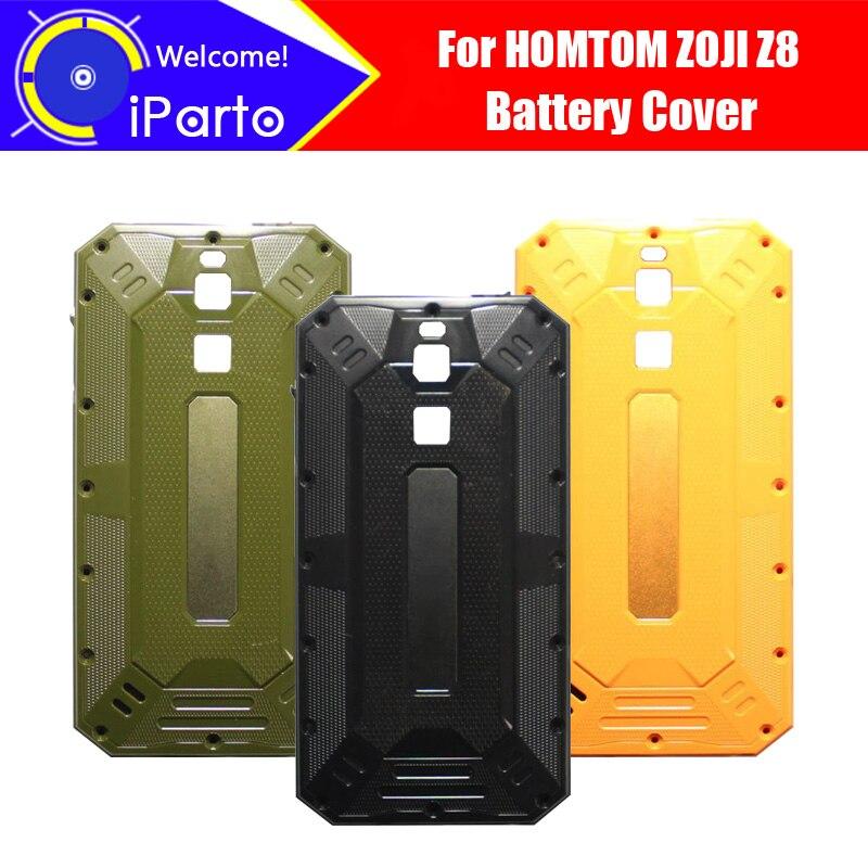 5,0 pulgadas HOMTOM ZOJI Z8 de la cubierta de la batería 100% Original nuevo Durable caso accesorio para teléfono móvil para ZOJI Z8 del teléfono celular