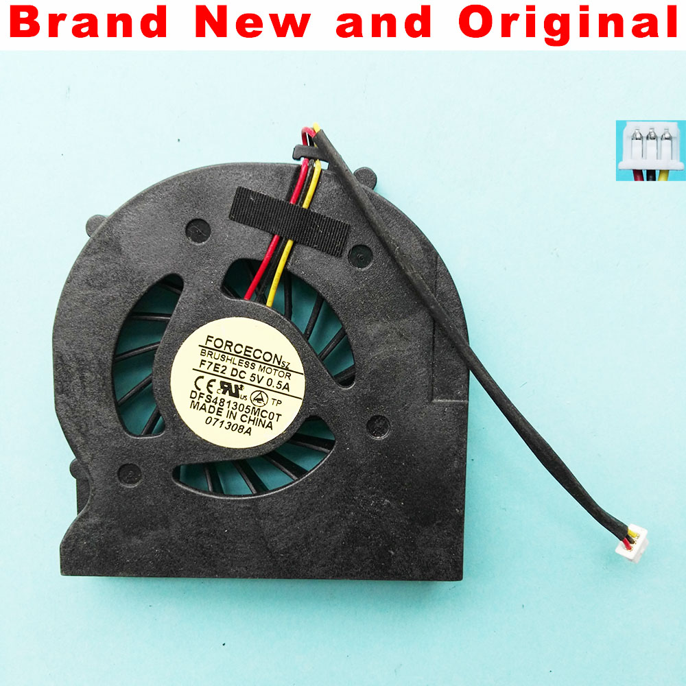 Новый оригинальный вентилятор ЦП для Acer Aspire 2420 2920 2920z охлаждающий вентилятор для ноутбука DFS481305MC0T F7E2