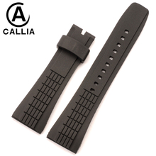 New Fashion High Quality Silicone Watchbands For Seiko VELATURA/SRH SPC007 Man Watch Strap Band Width26mm,(Buckle Width 20mm)