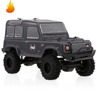 RC Crawlers 1/24 Scale 4wd Off Road RC Car 4x4 mini Off Road Truck RTR Lipo Rock Crawler Adventurer D90 With Lights