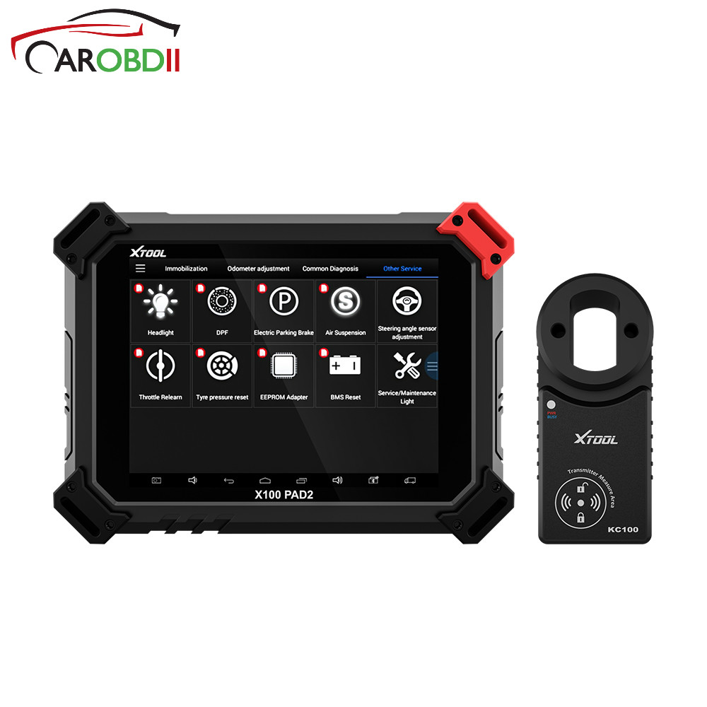 100% Original XTOOL Auto Key Programmer With Special Function like VVDI VW 4th&5th X100 PAD2 Pro Pad 2 Better Than X300 Pro3 DP