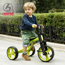 Boso fashion 2-5years old child tricycle soild wheel baby walker three wheels bike environmental paint baby tricycle solid wheel