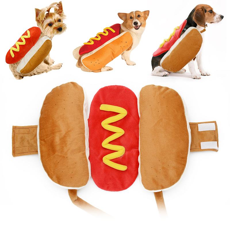 Hot Dog Dog Halloween Costume  3