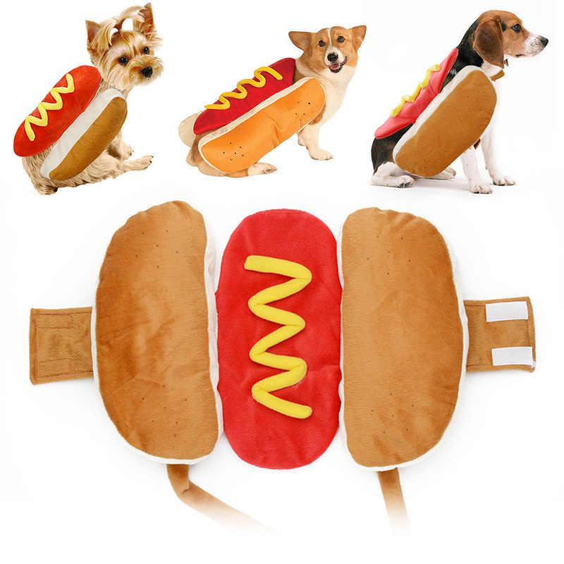 Ropa traje de Halloween para perros calientes y cachorros, ropa de gato mostaza, Atuendo para perros pequeños y medianos (consulta la tabla de tallas) producto