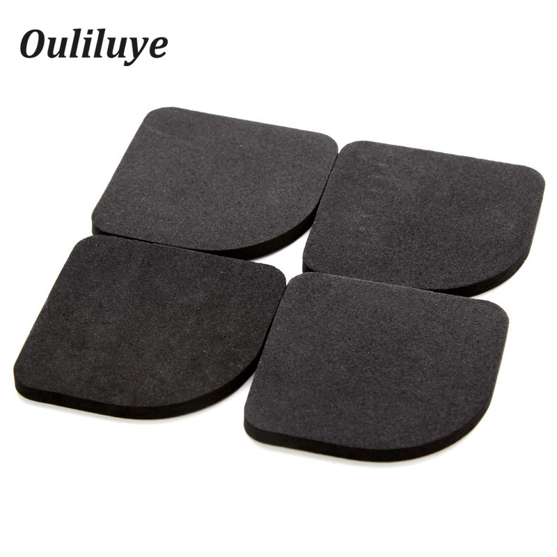 8PCS/4PCS Kitchen Furniture Legs Rubber Pads Anti-shock Anti-Vibration Non-Slip Mat For Washing Machine Refrigerator Leg Mats