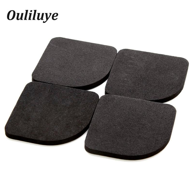 8PCS/4PCS Kitchen Furniture Legs Rubber Pads Anti-shock Anti-Vibration Non-Slip Mat For Washing Machine Refrigerator Leg Mats
