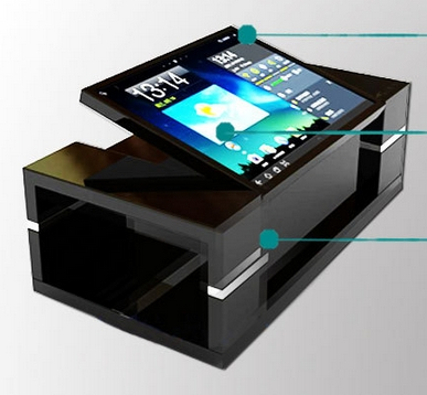 22 32 42 47 inch 4K led lcd tft hd display panel PC desk Kiosk Touch Screen Touch Smart computer table