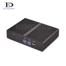 Thin client mini desktop pc Intel Celeron 3205U 1.5GHz Dual Core HDMI 300M WiFi Nano PC