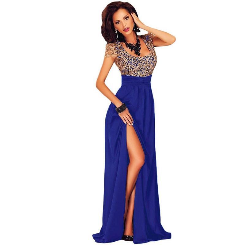 HTB1zBKwOpXXXXXdXVXXq6xXFXXXI - Gold Lace Overlay Slit Maxi Evening Gown JKP008