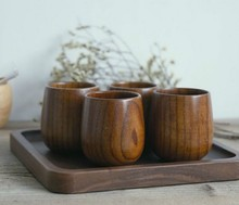 1PC Natural Jujube Bar Wooden Beer Cup Mugs Tea Coffee Milk Travel Mug Eco-Friendly Big Mug Tableware Drinkware Kitchen ELC 001 цена 2017