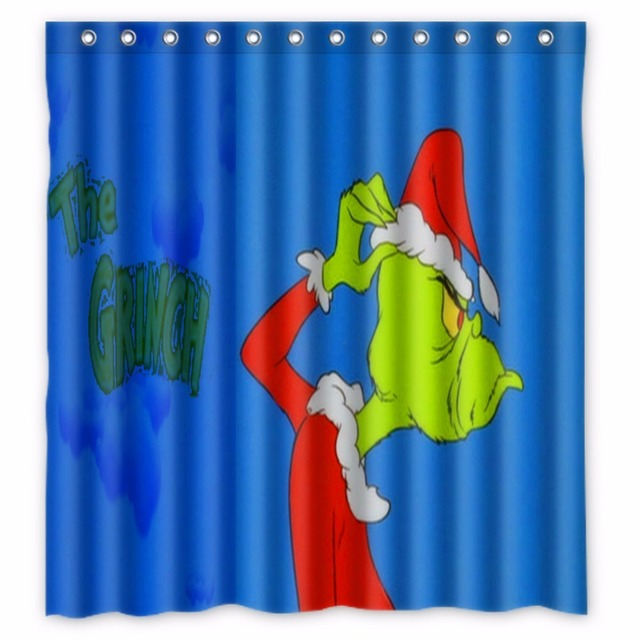 66 x72 inch how the grinch stole christmas shower curtain 66 x72