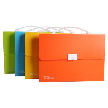 M amp G elegancka seria A4 narządów torba folder torba biurowa 13 stron AWT91937 tanie i dobre opinie Przypadku Plik skrzynka 330*250*40mm