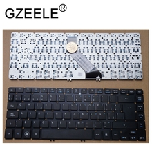 GZEELE Spanish keyboard FOR Acer Aspire V5-431G V5-431P V5-431PG V5-471G V5-471P V5-471 V5-431 MS2360 SP BLACK