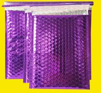 29 23cm Large Purple Bubble Mailers Padded Envelopes Mailing Bags Aluminum Foil Mailer Bag Metallic Shipping