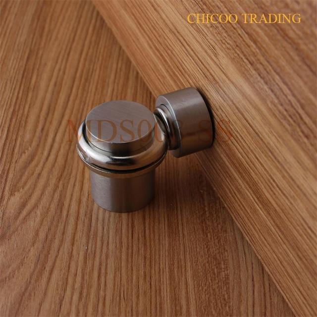 Beau DIE Casting Stainless Steel 304 Cylinder Door Stopper,Floor Magnetic  DoorStop Catch,door Holder