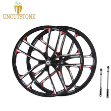 цена на mountain bike wheel 27.5  26 Cassette 7/8/9/10 Speeds magnesium alloy bike wheel  Mountain Bicycle Wheelrim