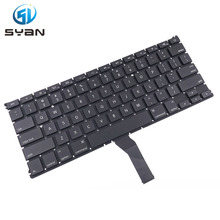 US A1370 A1465 keyboard with backlight for Macbook Air 11.6'' MC505 MC506 MC968 MC969 keyboards with backlit Brand New