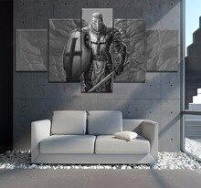 5 шт. hd-печать картины плакат храмовник картина холст стены книги по искусству картина украшения дома гостиная