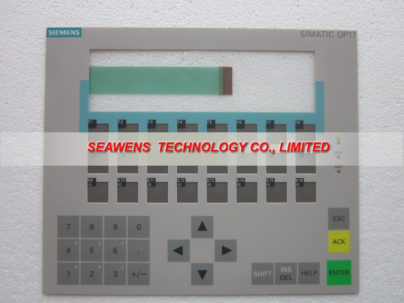 New Membrane keyboard 6AV3 617-1JC00-0AX1 for SlMATIC HMI OP 17 KEYPAD, Membrane switch, simatic op17 HMI keypad ,IN STOCKNew Membrane keyboard 6AV3 617-1JC00-0AX1 for SlMATIC HMI OP 17 KEYPAD, Membrane switch, simatic op17 HMI keypad ,IN STOCK