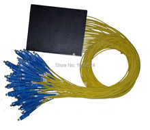 ФОТО free shipping gpon epon 2.0mm 1.5m 1x64 abs box 1 64 sc/upc fiber optical plc splitter