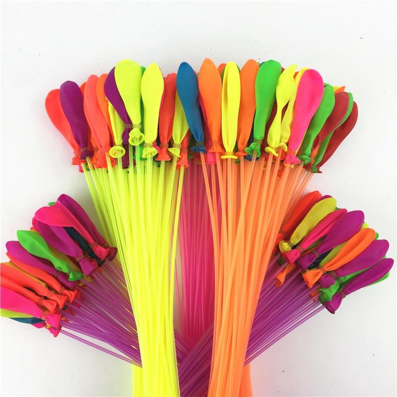 купить 2220 pcs/set Novelty Summer Outdoor Toy Fast Filling Magic Water Balloons Water Balloons Bombs Toys For Children gift по цене 2581.87 рублей