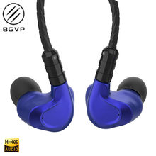 NEW BGVP DMG 2DD+4BA Hybrid In-Ear Earphone Metal High Fidelity Monitor With Detachable MMCX Cable And Three Nozzles