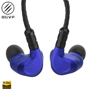 Image 1 - NEW BGVP DMG 2DD+4BA Hybrid In Ear Earphone Metal High Fidelity Monitor With Detachable MMCX Cable And Three Nozzles