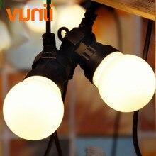 Neue! Outdoor IP65 Garten/Terrasse/Hochzeit Vintage Girlande Ball String Licht, g50 Globe String Leuchtet Milchig Tanzen String Licht