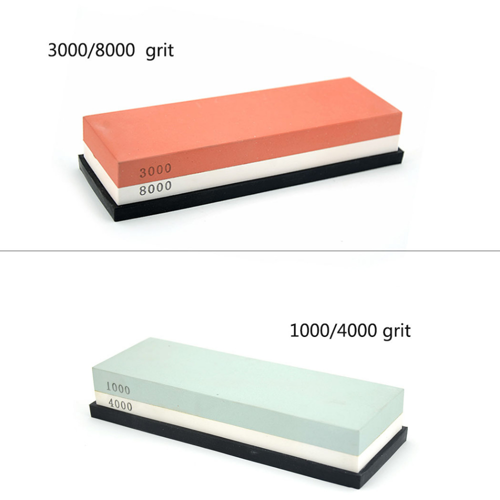 ZY 1000 / 4000 3000 / 8000 Grit Straight Razor Knife Sharpening Whetslate Rubstone Corundum Whetstone Stone Kitchen Sharpener 7 2 5 whetstone sharpening stone 8000 3000 knife sharpener oilstone polishing