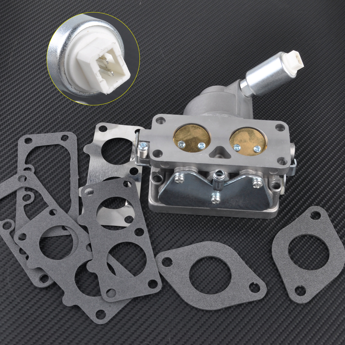 цена на LETAOSK New Carburetor Replaces fit for Briggs & Stratton 791230 699709 499804 Manual Choke