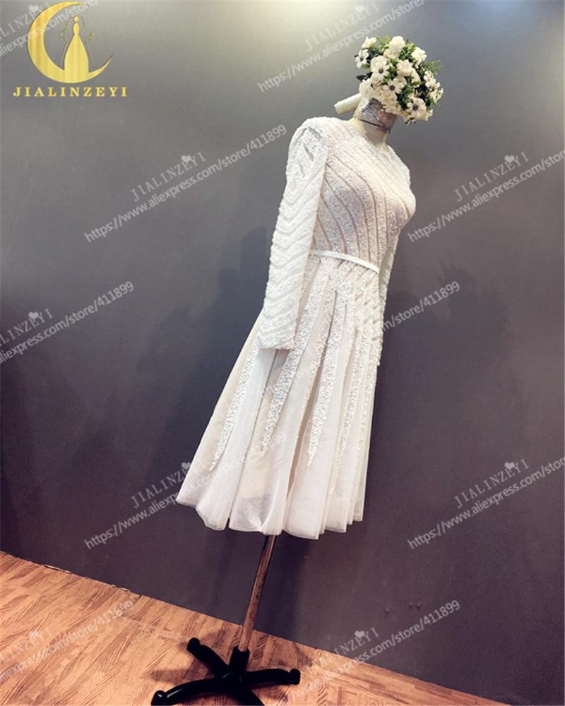 Ρήνου πραγματικό δείγμα μακρύ μανίκι - Ειδικές φορέματα περίπτωσης - Φωτογραφία 4