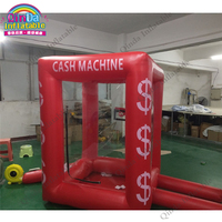 inflatable square money machine cash machine for speed promotion ourdoor advertising logo can be customized inflatable games
