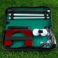 Портативные принадлежности для гольфа  крытые уличные держатели для мячей для гольфа  набор для обучения гольфу с чехлом