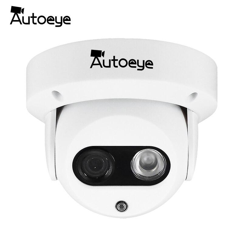 Autoeye Ahd Câmera 1080 P Sony Imx323 2mp Câmera De Vigilância De Vídeo Visão Noturna Ir 30 M Indoor Dome Câmera De Segurança Cctv Câmera