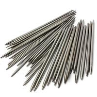 55pcs Set 11 Sizes 7 9 20cm Double Pointed Stainless Steel Knitting Needles Home Sewing Tools