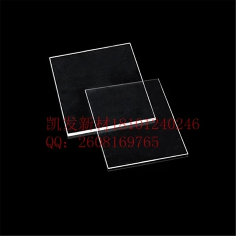 Sapphire Square-Al2O3 Single crystal substrate-5.0mm*5.0mm*0.4mm-Window film-Epitaxial coating-double polishingSapphire Square-Al2O3 Single crystal substrate-5.0mm*5.0mm*0.4mm-Window film-Epitaxial coating-double polishing