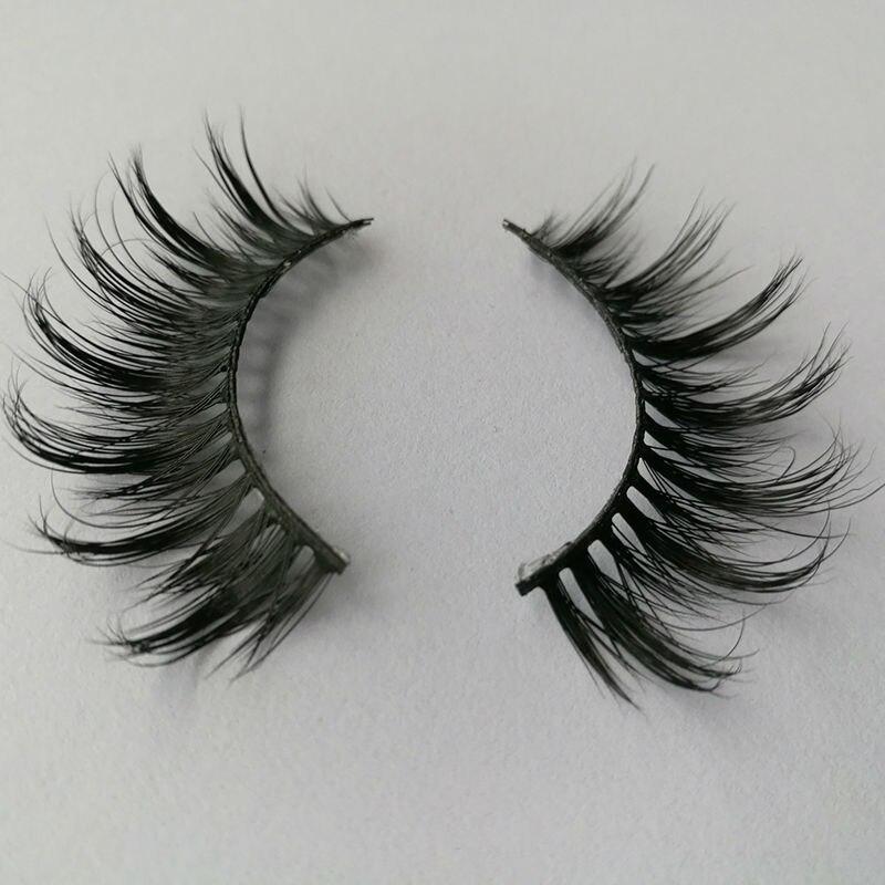 Best Selling Mink Eyelashes REAL 3D MINK STRIP Lashes Siberian Mink Individual False Eyelashes