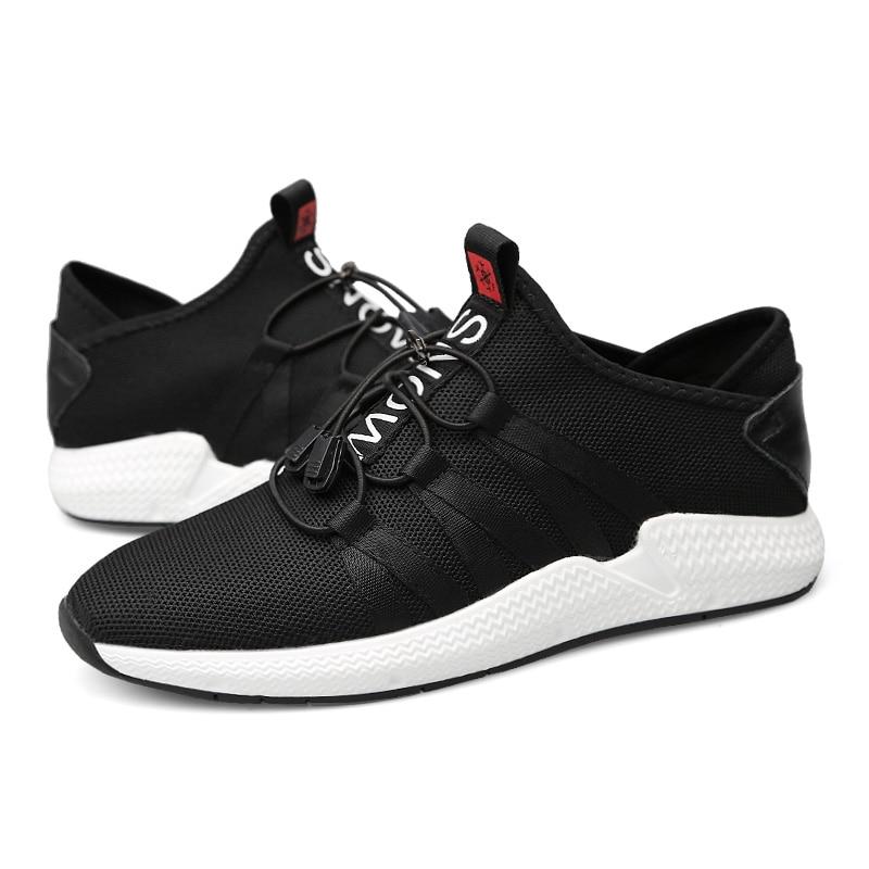 Sneakers Tenis Dos Homens Preto Estações Mycolen Casuais Malha Novos Masculina De Flats Luxo Marca Sapatos Masculinos Mocassins Moda qZZwPUH