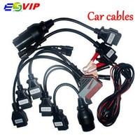 Kalite A + cdp kabloları OBD OBD2 tam set 8 araba kabloları otomobil ve kamyonlar için cdp Pro teşhis Aracı araç teşhis kablo