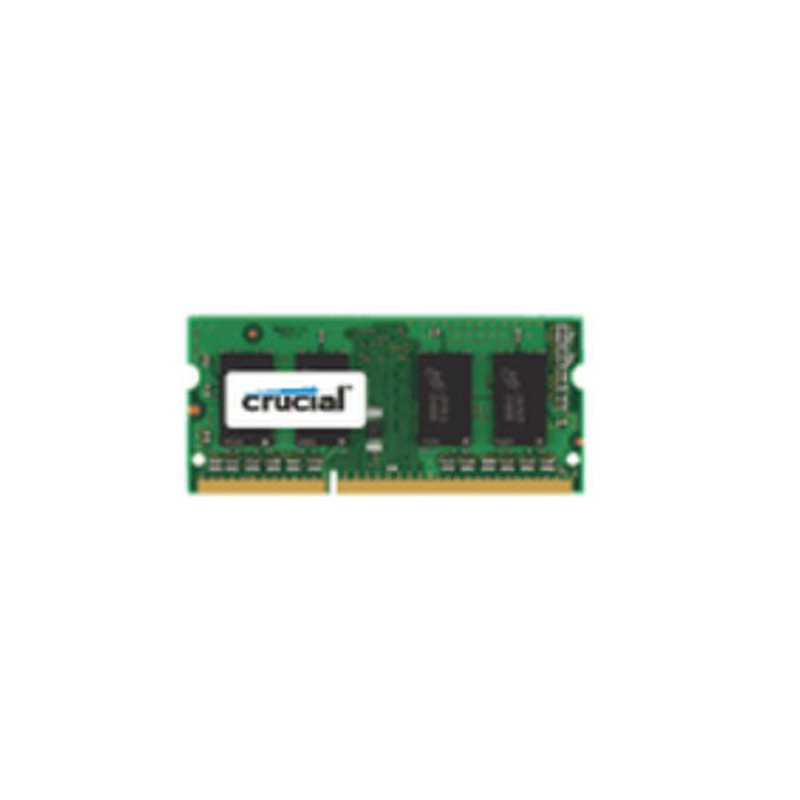 DDR3-1600 Crucial 8 go, 8 go, 1x8 go, DDR3, 1600 MHz, SO-DIMM 204 broches