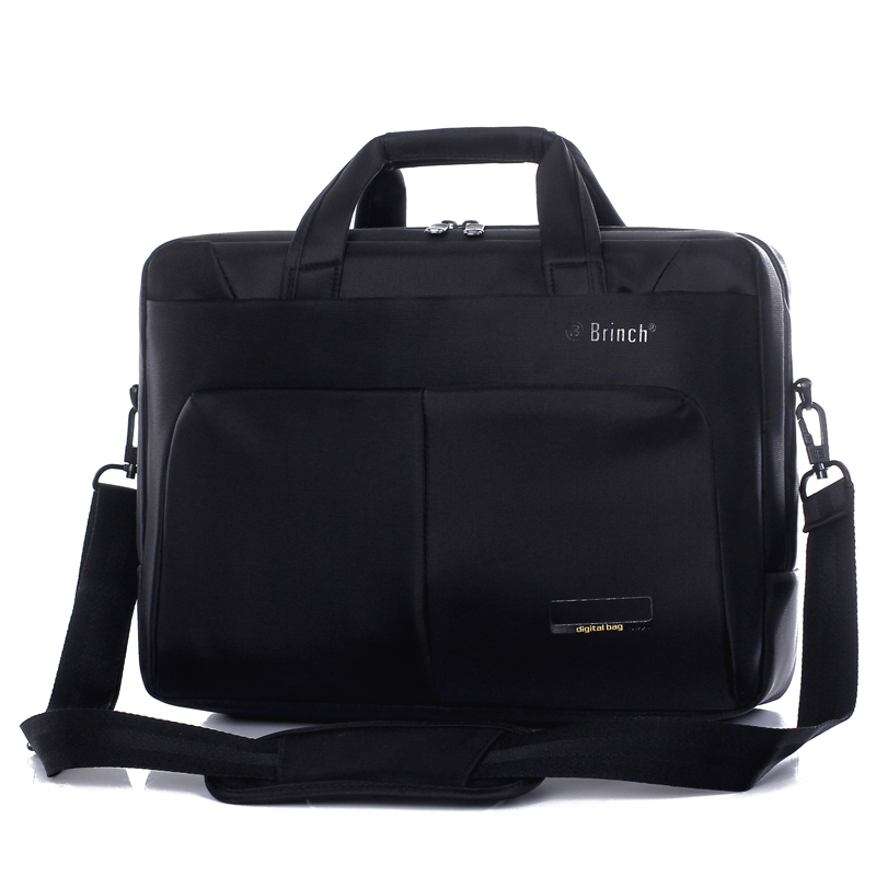 BRINCH computer bag 15.6 inch business large capacity waterproof and shock proof men and women Shoulder Bag Laptop Bag BW-186