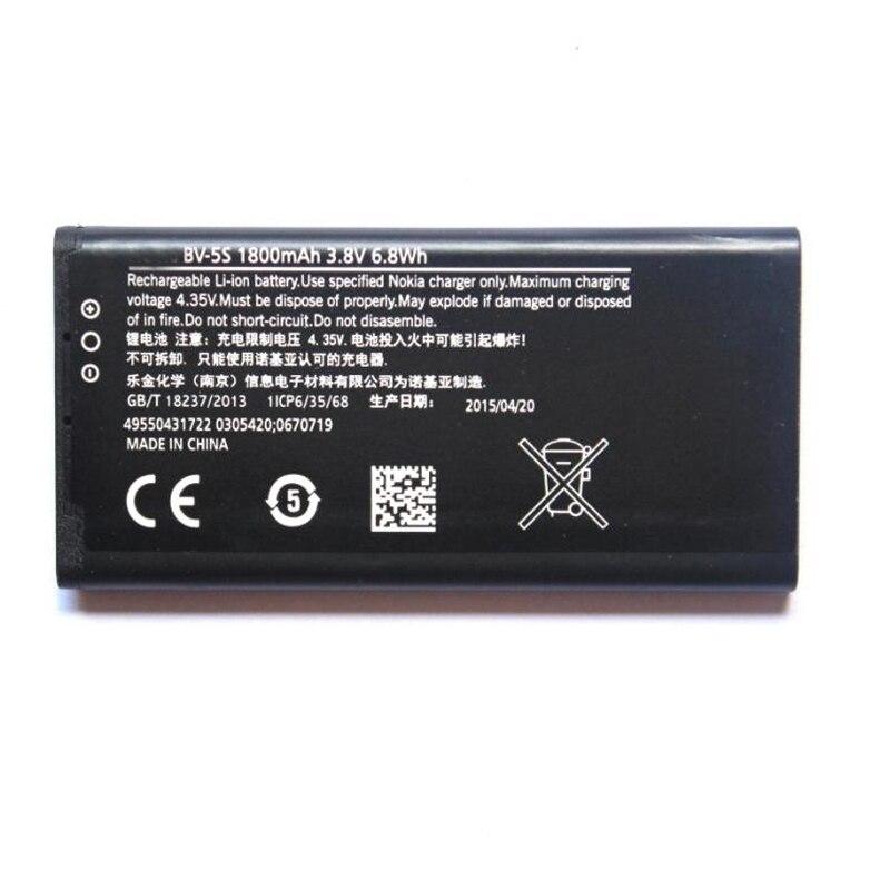 Original BV-5S RM-1013 phone battery for Nokia RM-1013 X2 X2DS X2D 1800mAhOriginal BV-5S RM-1013 phone battery for Nokia RM-1013 X2 X2DS X2D 1800mAh